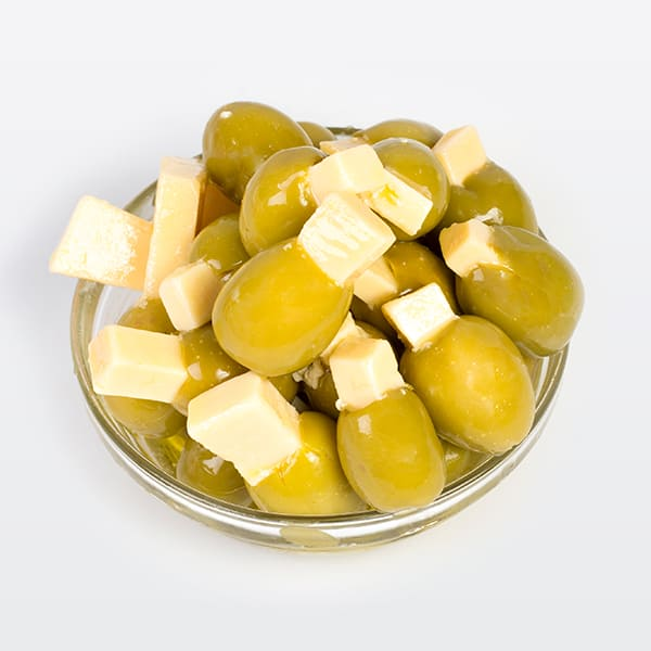 Olives Gordal Farcies au Fromage