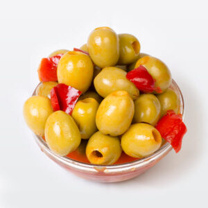 Aubergine-Flavoured Olives